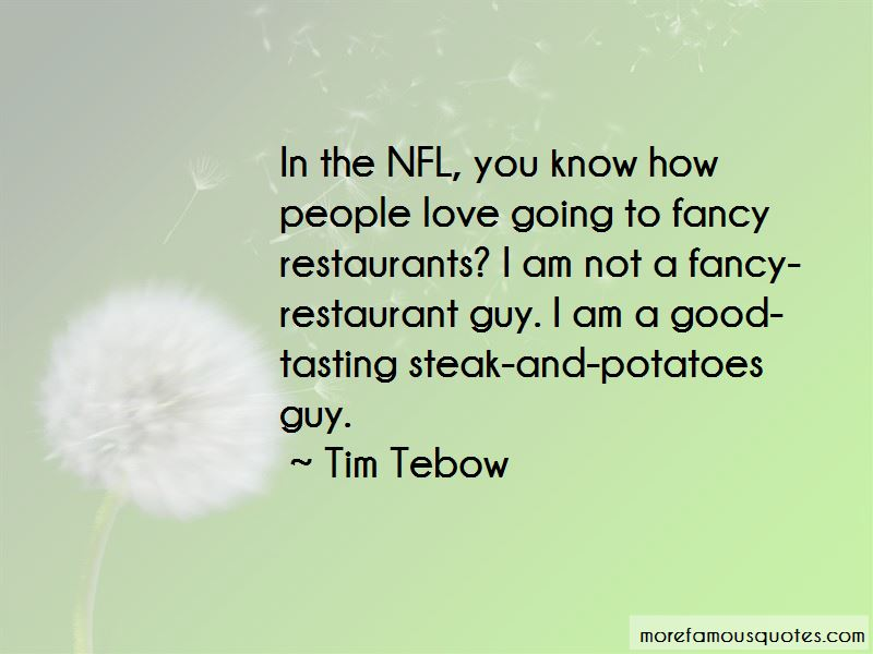 Quotes About Steak And Potatoes