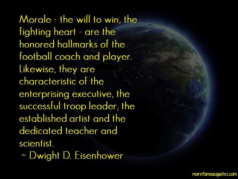 Quotes About Teacher Morale