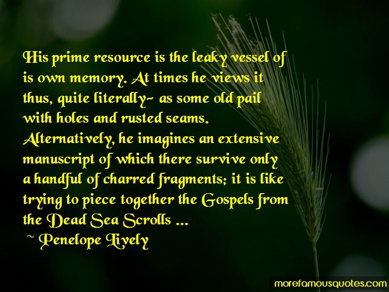 Quotes About The Dead Sea Scrolls