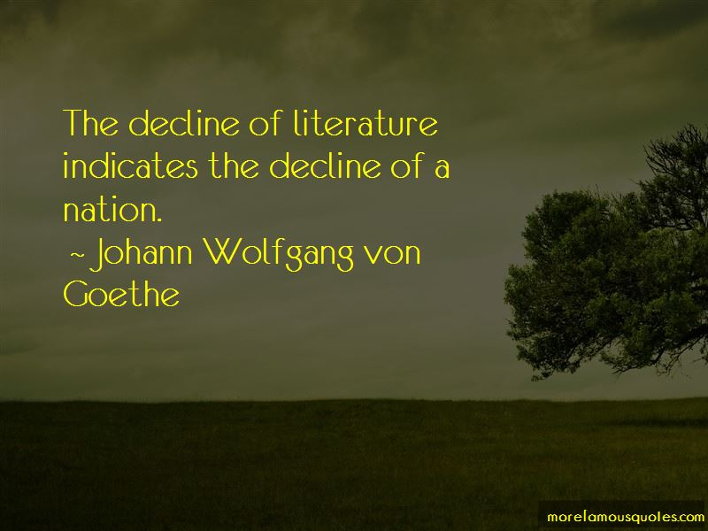 Quotes About The Decline Of A Nation