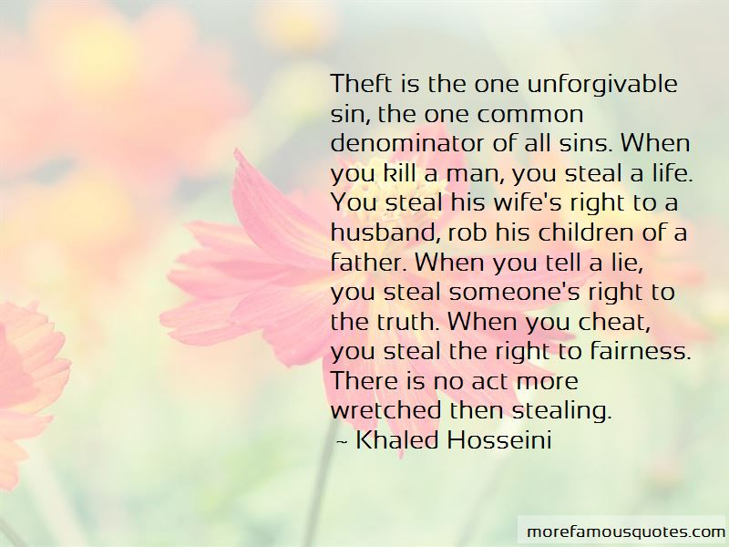 Theft Quotes Pictures 3