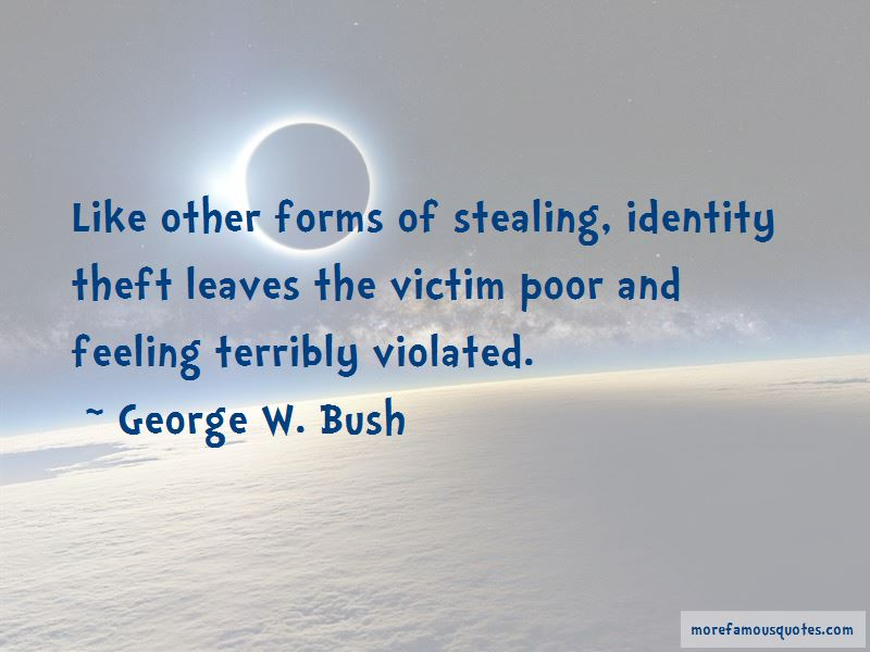 Quotes About Theft