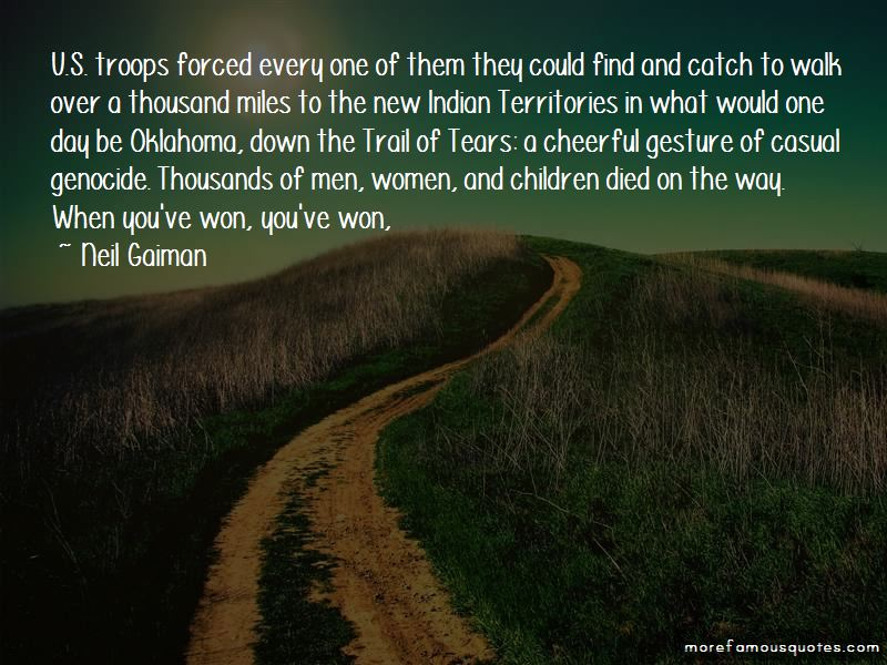 Quotes About Trail Of Tears
