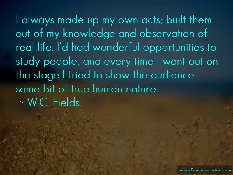 Quotes About True Human Nature