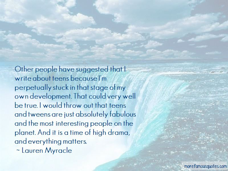 Quotes About Tweens
