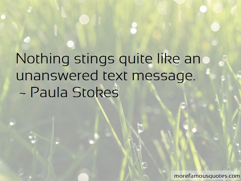Quotes About Unanswered Text