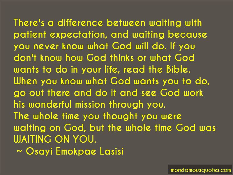 Waiting On God Quotes Pictures 3