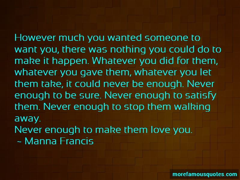 Walking Away From Someone You Love Quotes Pictures 3