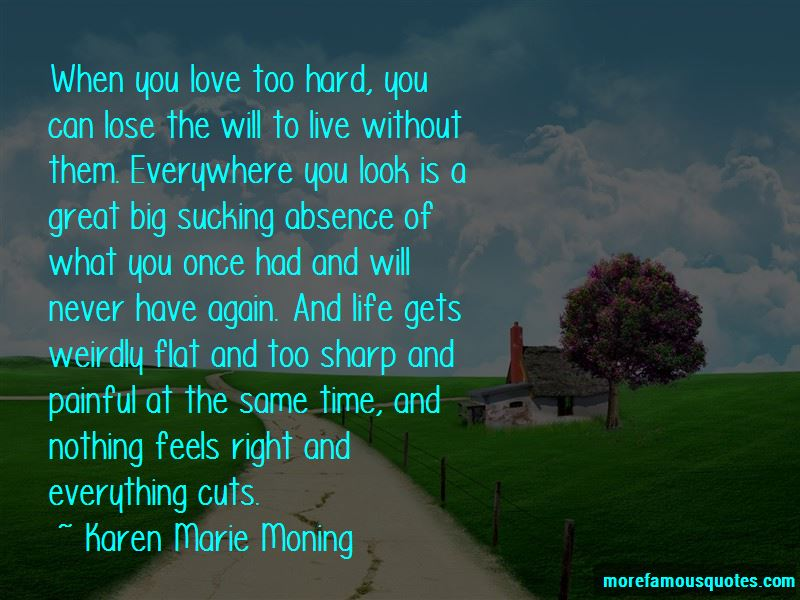 Quotes About When Love Gets Hard