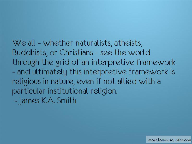 Religion In Nature Quotes Pictures 2