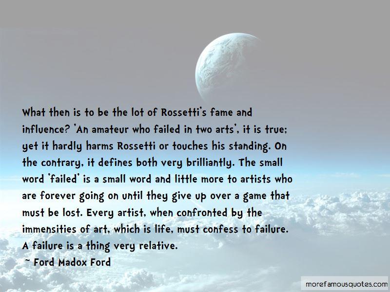Rossetti Art Quotes