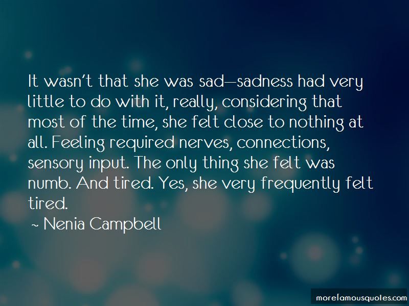 She Was Sad Quotes