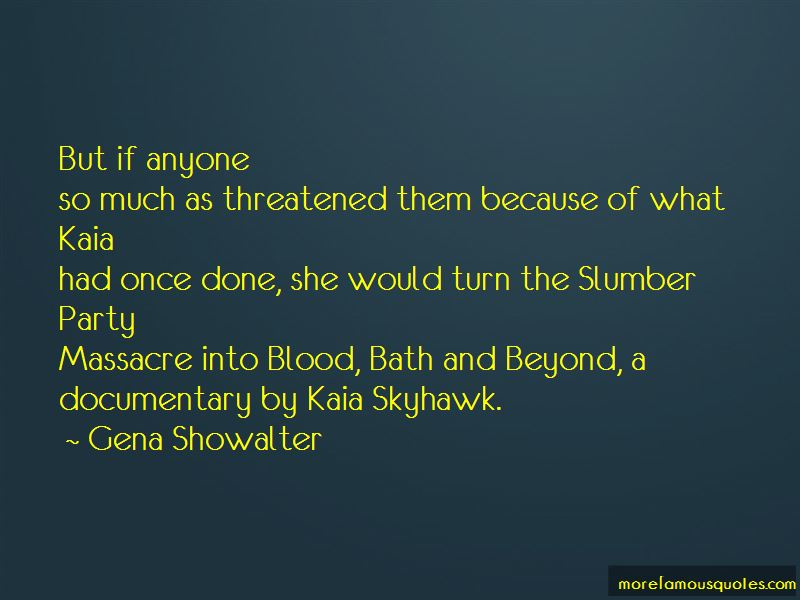 Slumber Party Massacre 2 Quotes Top 1 About