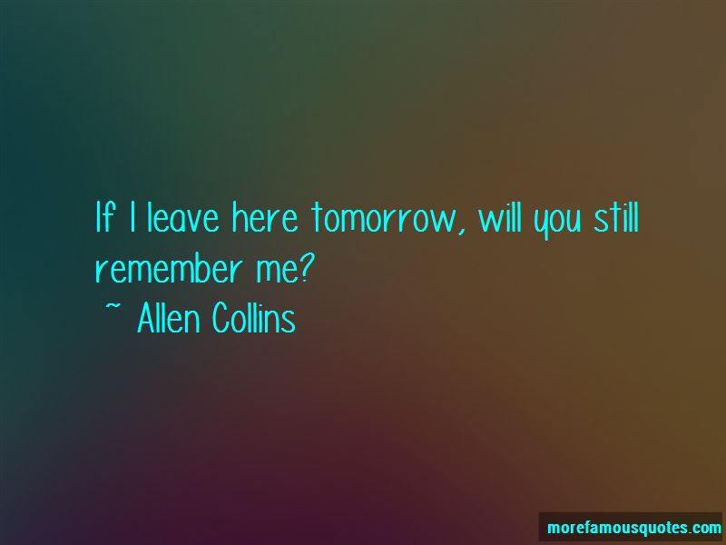 Still Remember Me Quotes