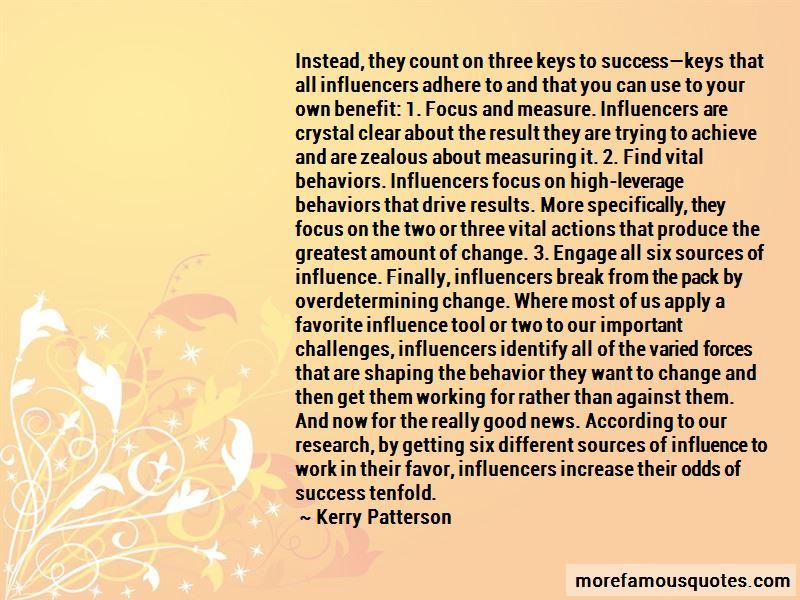 Success Keys Quotes