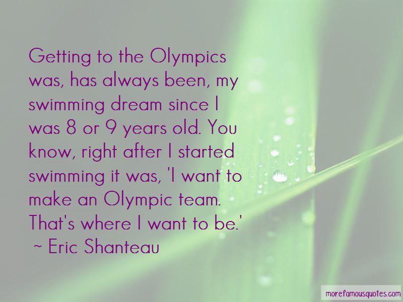 Swimming Olympics Quotes