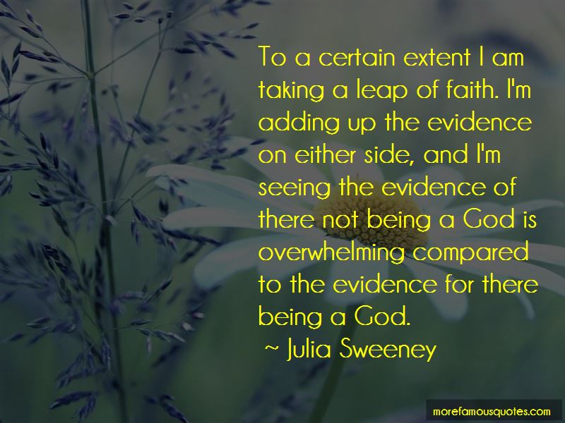 Taking A Leap Of Faith Quotes: Top 9 Quotes About Taking A
