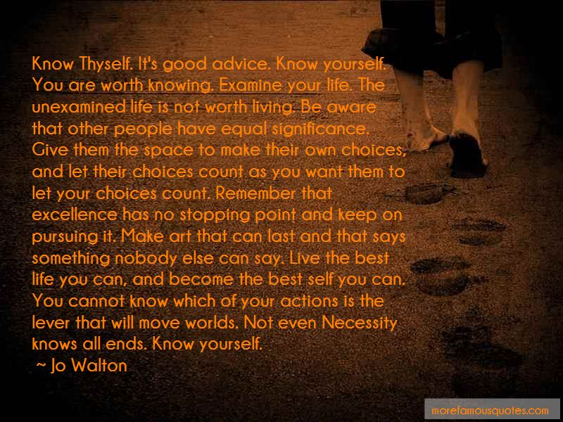 The Unexamined Life Is Not Worth Living Quotes Pictures 4