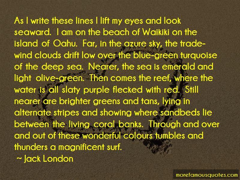 Waikiki Beach Quotes