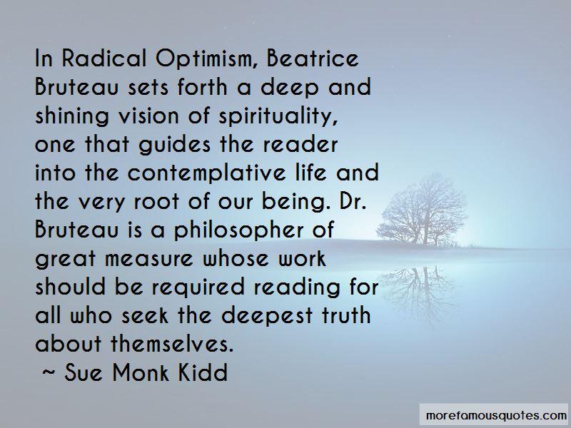 Beatrice Bruteau Quotes