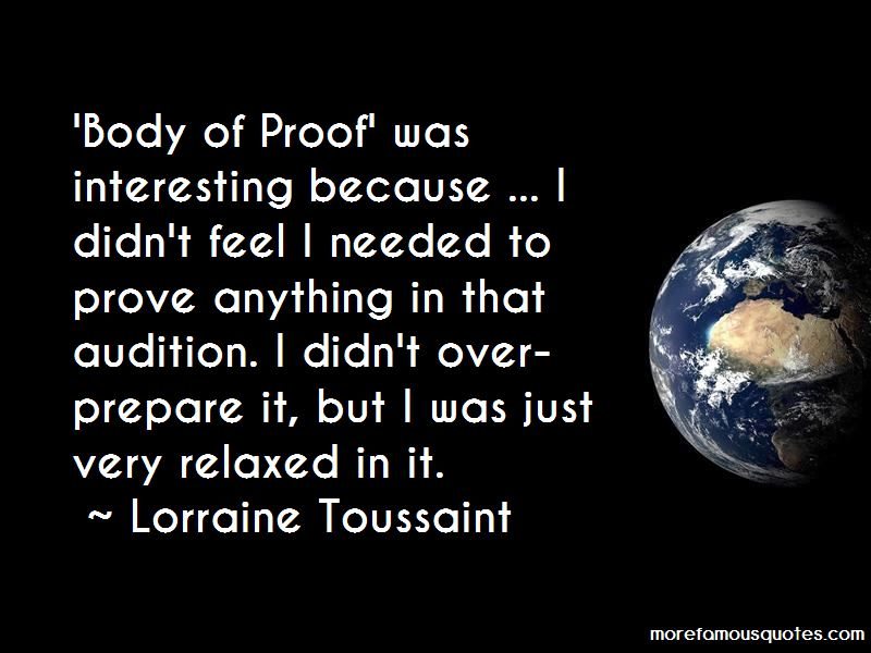 Body Of Proof Quotes