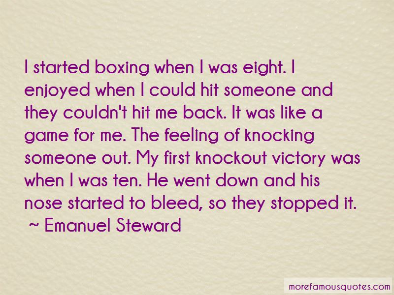 Boxing Knockout Quotes Pictures 2