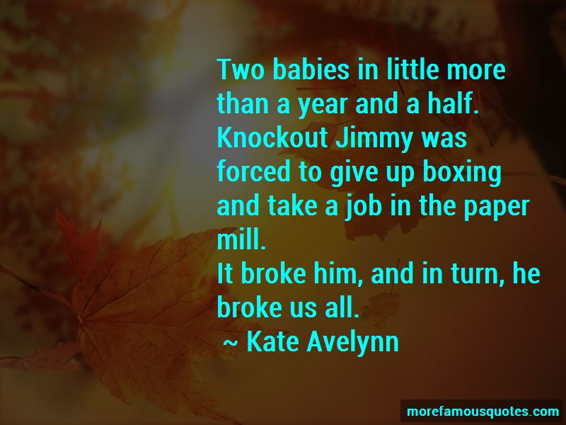 Boxing Knockout Quotes