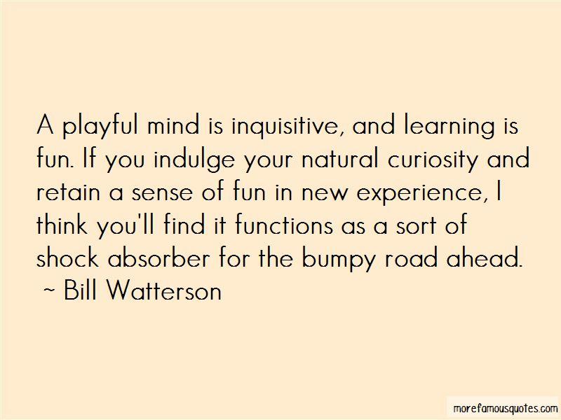 Bumpy Road Ahead Quotes