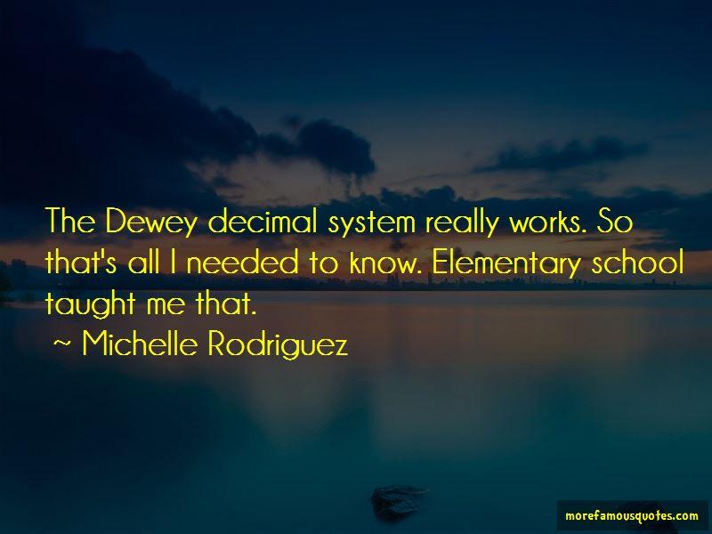 Dewey Decimal Quotes