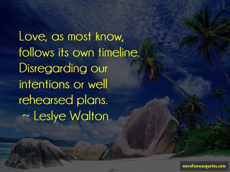 Disregarding Love Quotes