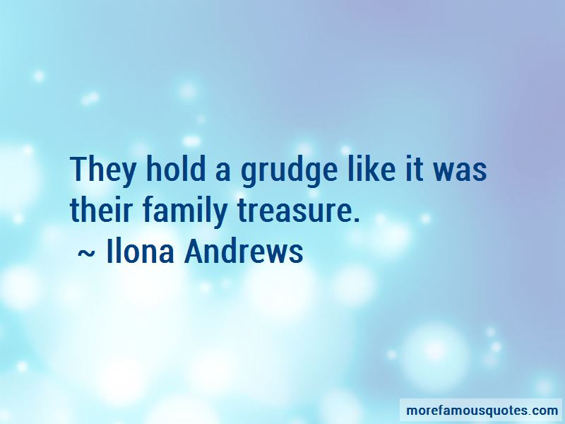 Family Grudge Quotes