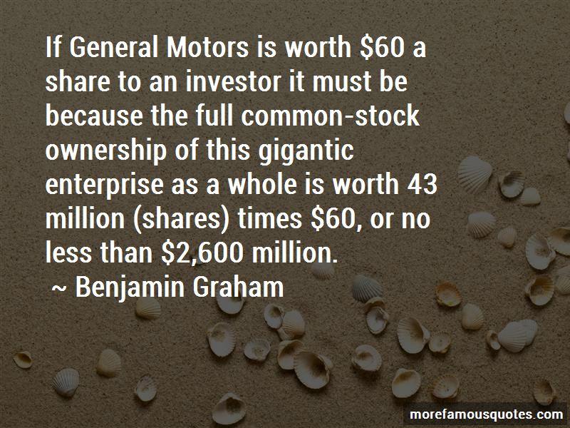 General Motors Stock Quotes