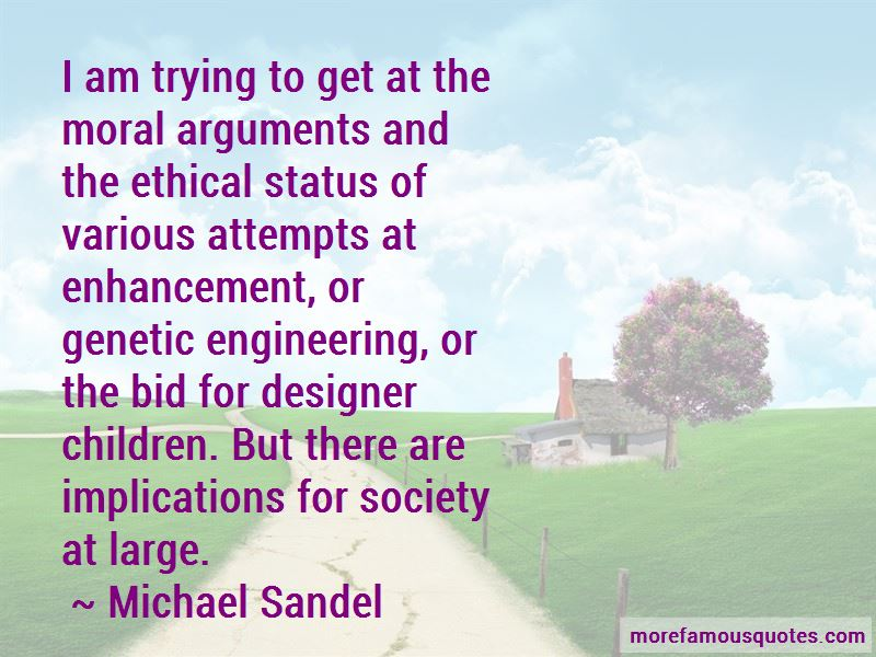 Genetic Enhancement Quotes