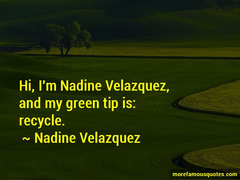 Go Green Recycle Quotes