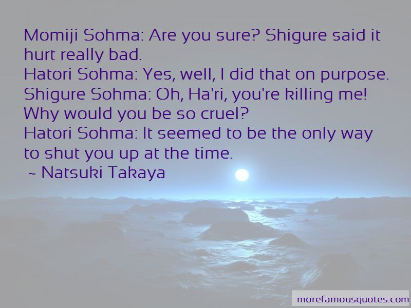 Hatori Sohma Quotes