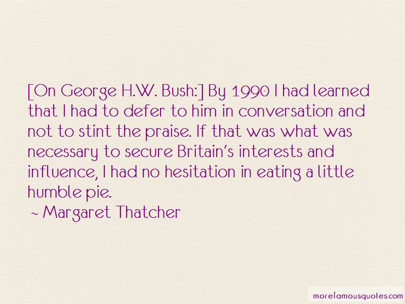 Hw Bush Quotes