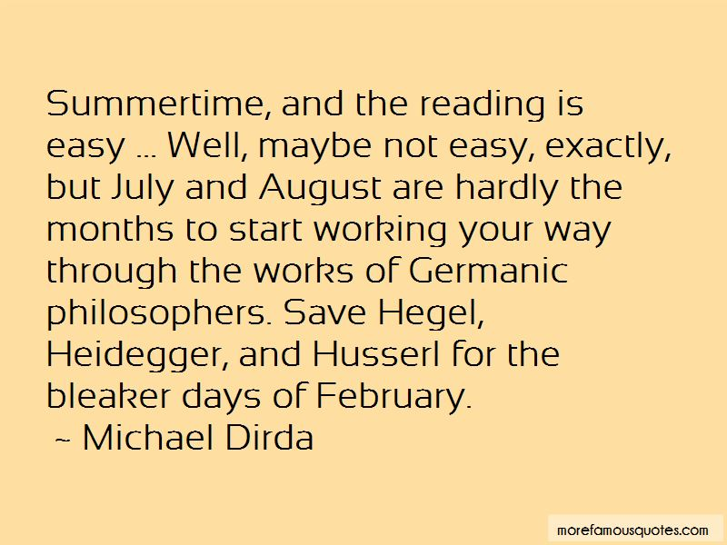 July And August Quotes