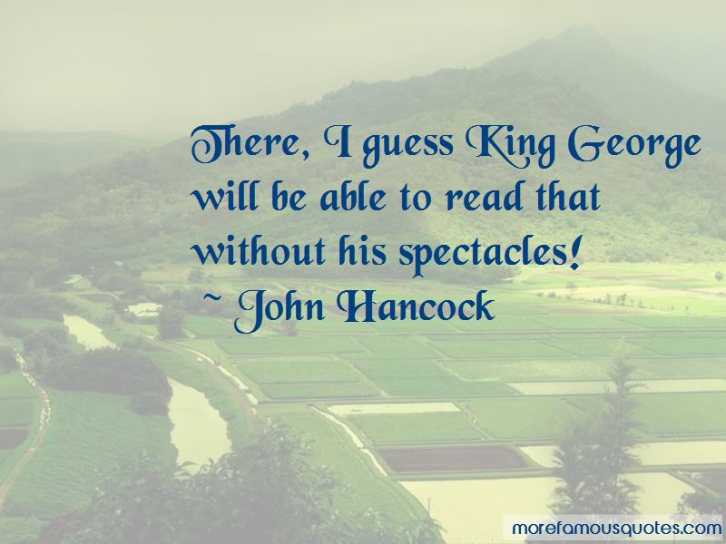 King George Quotes