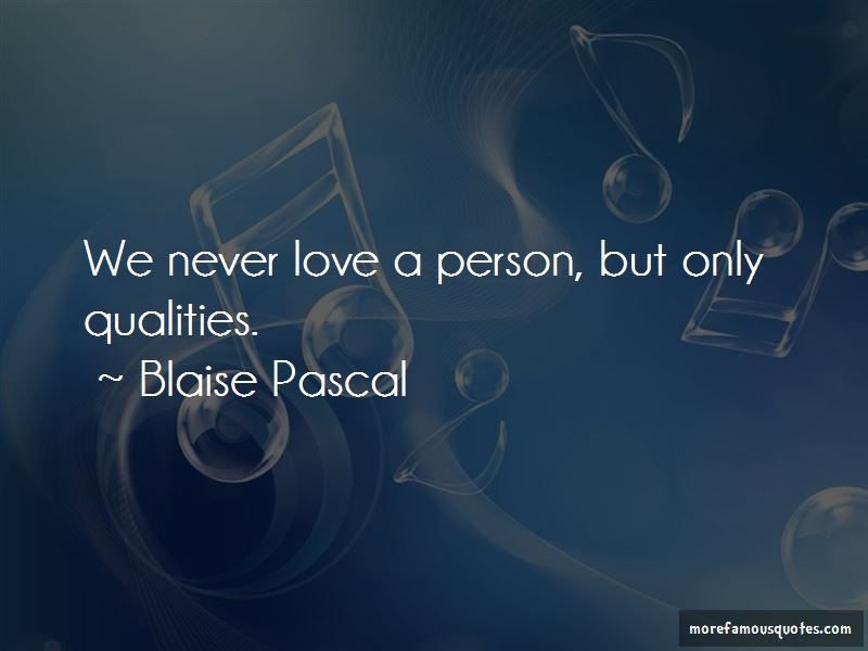 Never Love A Person Quotes