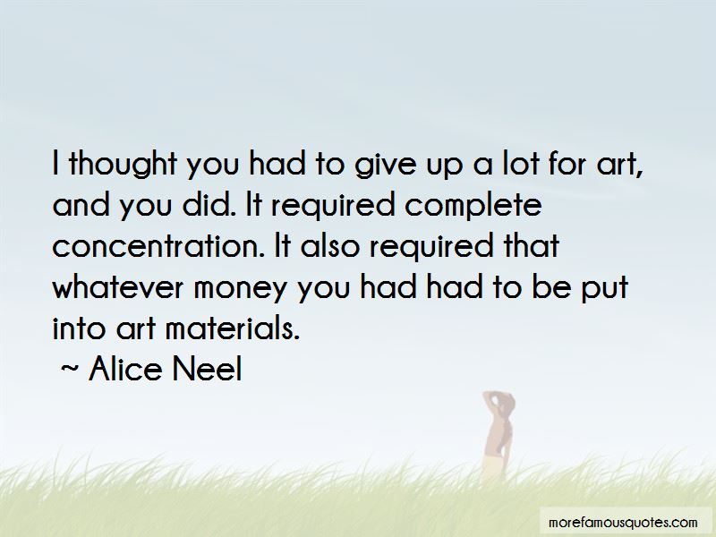 Quotes About Art Materials