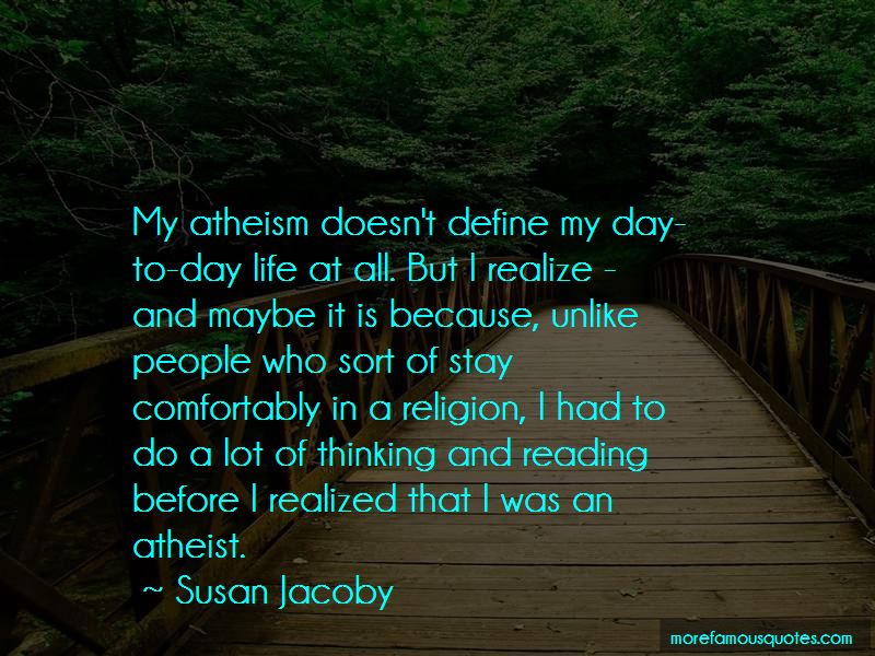 Quotes About Atheism