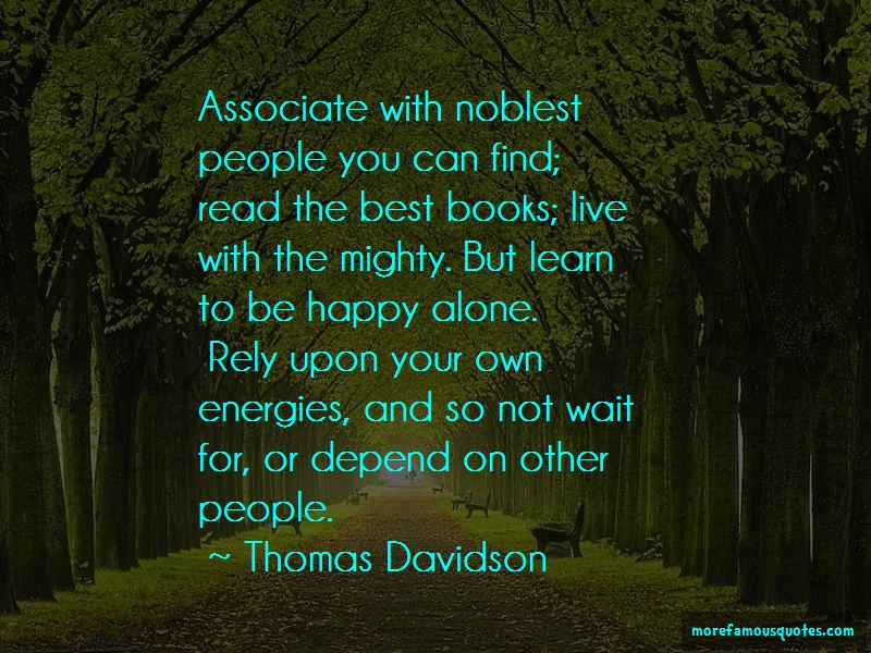 Quotes About Be Happy Alone