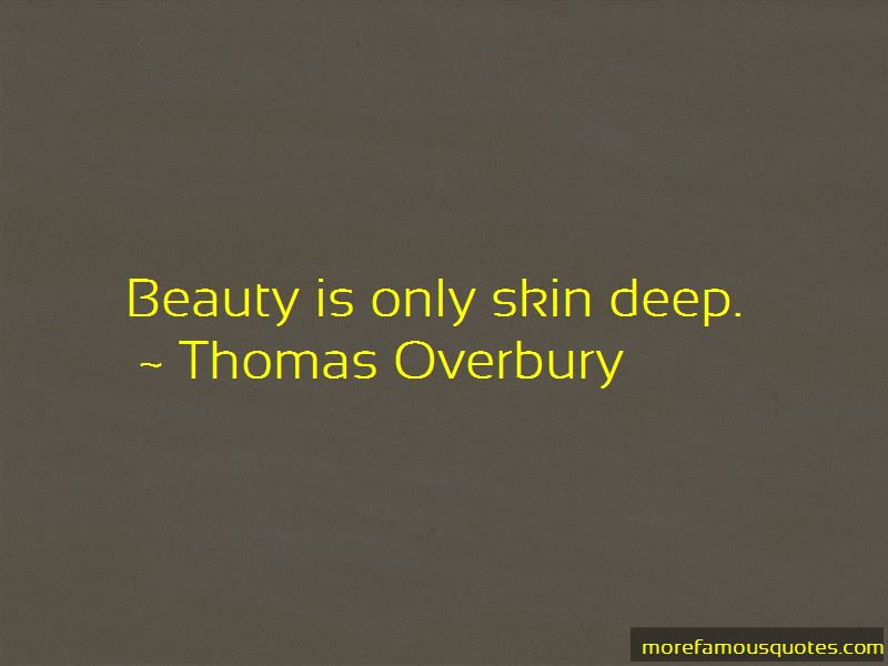 Beauty Only Skin Deep Quotes Pictures 3