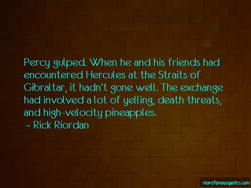 Quotes About Exchange Friends