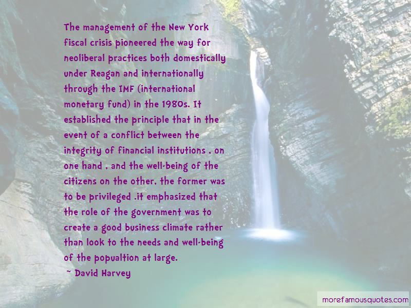 Quotes About Fiscal Management