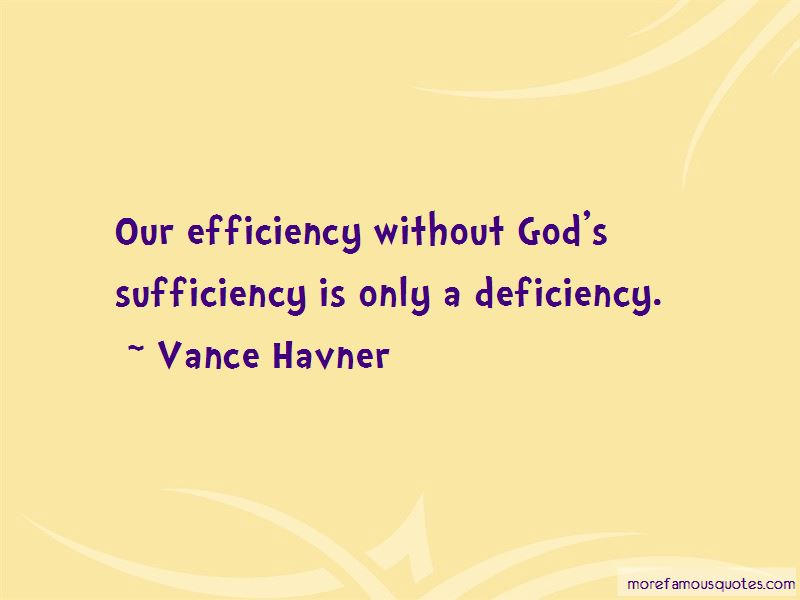Quotes About God's Sufficiency