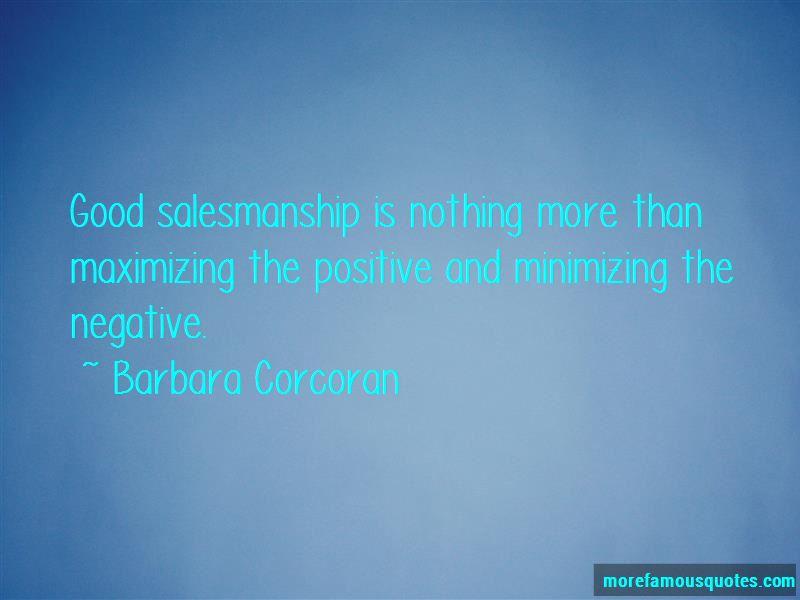 Quotes About Good Salesmanship