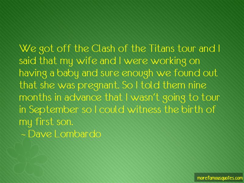 Quotes About Having A Baby Son