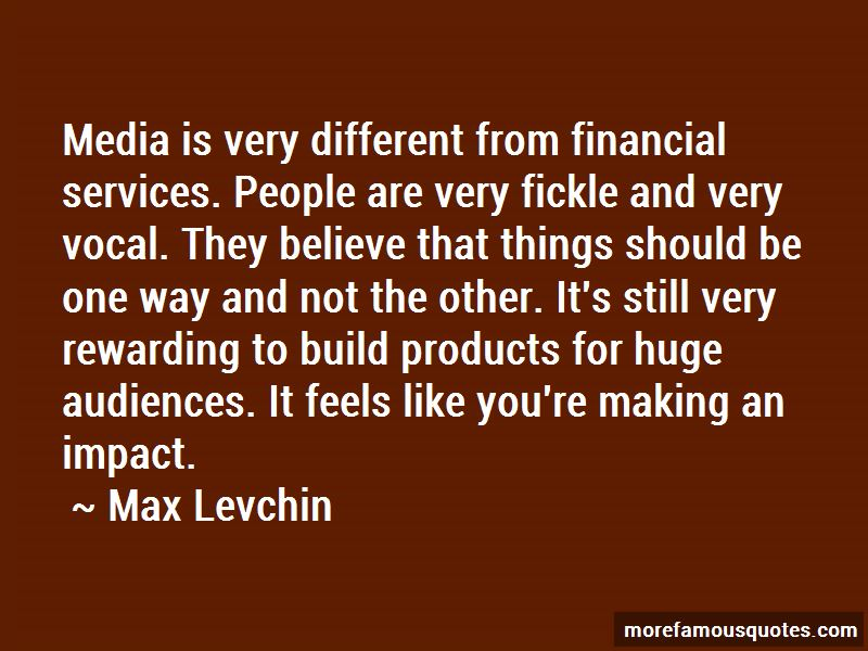 Quotes About Impact Of Media