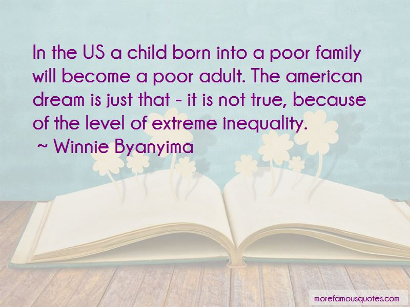 Quotes About Inequality In Family